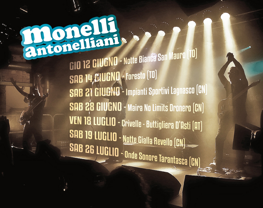Monelli Antonelliani in Tour 2014